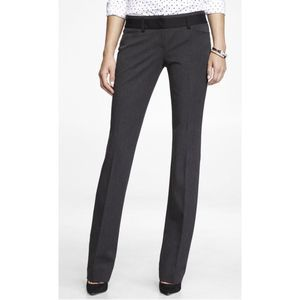 Express Low Rise Barely Boot Editor Pant 4R NWT